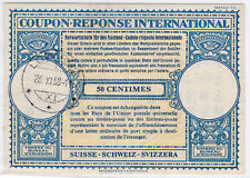 INTERNATIONAL REPLY COUPON SWISSE-1958