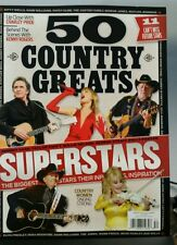50 Country Music Greats STRAIT Cash Willie Dolly Swift Becket FREE SHIPPING