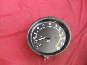1973 73-77 PONTIAC GRAND PRIX CAN AM RALLY GAUGE CLUSTER TACHOMETER TACH GM