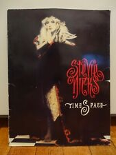 Vintage Stevie Nicks Time Space The Whole Lotta Trouble Tour Program Music Book