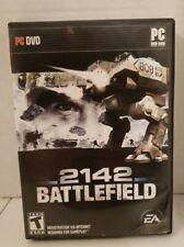 Battlefield 2142 (PC, 2006) Big Box Version CIB with Case & Manual + Bonus game