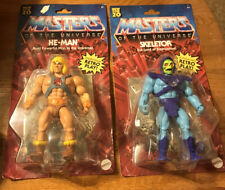 Masters of the Universe Lot of 2 - He-man And Skeletor