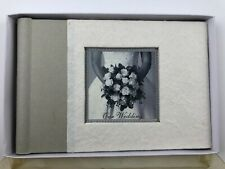 "Bride'S Photo Book ""Our Wedding"" 4x6 photos * 10 2-sided sleeves * New"