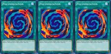 Polymerization 1st X 3  New YUGIOH LDK2/ YGLD Normal Spell Card