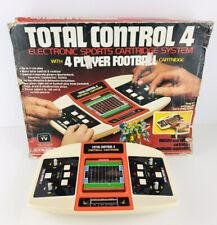 VTG 1981 Coleco Total Control 4 Football Cartridge Handheld Arcade Game ~ WORKS