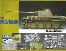 Gunze Sangyo Panther Sd.Kfz. 171 Ausf G Plastic Metal Brass Photo Etch 1/35