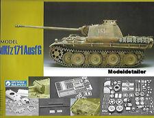 Gunze Sangyo Panther Sd.Kfz. 171 Ausf G Plastic Metal Brass Photo Etch 1/35