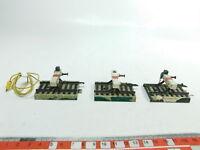 BH240-0,5# 3x Märklin Modellgleis H0/AC 3900 Bastler-Prellbock