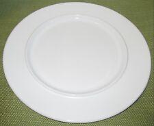 4 Sasaki ANELLO WHITE Dinner Plate Vignelli Designs Japan ~ Very Good