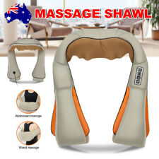 Shoulder Massager Vibrator Back Neck Body Leg Arm Shiatsu Deep Knead Car Wrap
