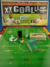 Retro Football Board Game STRIKE FOR GOAL Pic Toys 1990 Complete