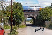 RONNIE BIGGS Signed 'Bridego Bridge' Photograph - Great Train Robbery - preprint