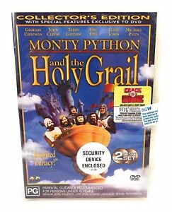 Monty Python And The Holy Grail (DVD) Australia Region 4- NEW & SEALED