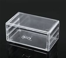 Cosmetic & Jewelry Storage Box Organizer Large Capacity with Easy Slide Drawer
