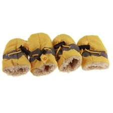 Dog Shoes Warm Skidproof Snow Booties Autumn Winter Puppy Protective Rain Shoes