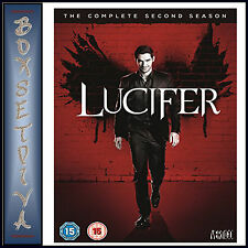 LUCIFER - COMPLETE SEASON 2 - SECOND SEASON *BRAND NEW DVD***