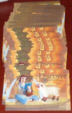 WDCC BEAUTY AND THE BEAST BELLE LOT OF 180 WALT DISNEY FIGURINE POSTCARDS