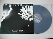 """LP Indie 17th Floor productions-the delysid EP 12"""" (4 song) 17th Floor prod"""