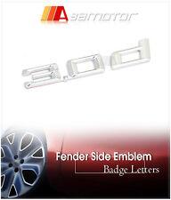 BMW E53 X5 Door Fender Side Chrome Emblem Badge Decal Letter Sticker 3.0d 3.0 d