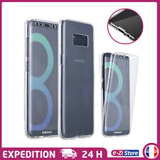 COQUE INTÉGRALE AVANT ARRIÈRE SILICONE TPU HOUSSE PROTECTION SAMSUNG GALAXY S8
