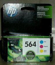 HP 564 Ink Cartridges Genuine - Cyan, Magenta, Yellow (N9H57FN)