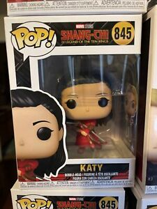 Funko POP Figure Marvel Shang-Chi KATY 845 Mint With Protector