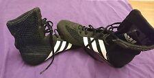 Adidas black boxing trainers UK 8.5
