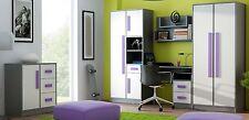 Jugendzimmer, Kinderzimmer Set GIT, Wohnwand, Kommode