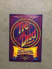 Tie Died World Premiere Party Fillmore Poster Bgse3 1995 Tuten