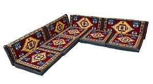 Orientalische Sitzecke, traditionelles Orientalisches Sofa 9-tlg. Sitzkissen-Set