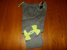 NWT UNDER ARMOUR STORM COLD GEAR GRAY SWEATPANTS BOYS XL RETAIL $44.99