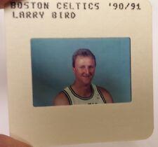 LARRY BIRD 1990-91 TV MEDIA SLIDE  NBA BASKETBALL  BOSTON CELTICS
