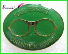 Pin's Monture lunette Pour Enfant Collection Boubou Verte #H1