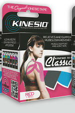 "GENUINE KINESIO TEX TAPE CLASSIC RED 2"" X 13.1' KINESIO TAPE"