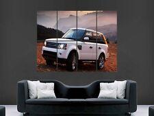 RANGE Rover Auto 4x4 enorme grande WALL ART POSTER PICTURE
