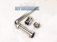 Universale Acciaio Inox Staffa Di Scarico Attacco Regolabile Hook Kit Auto X1