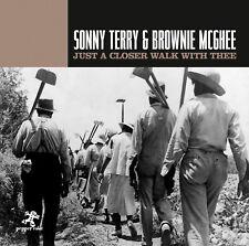 Blues CD Sonny Terry & Brownie McGhee just a Closer Walk With reunen