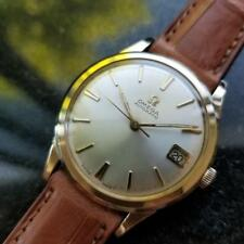 OMEGA Men's 10K Gold-Capped cal.560 Automatic w/Date c.1960s Swiss Vintage LV400