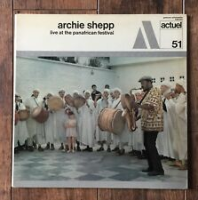 Archie Shepp – Live At The Panafrican Festival LP 1st press 1971 French  BYG