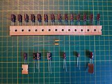 Tektronix A1 Board Capacitor Kit 2445a 2445b 2465a 2465b 2467 2467b