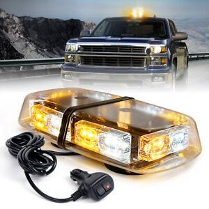 36 LED Strobe Beacon Light Yellow/White Mix Rooftop Emergency Warning Truck Vans