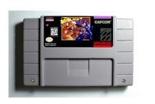 Mega Man 7 SNES 16-Bit Game Cartridge USA NTSC Only English Language