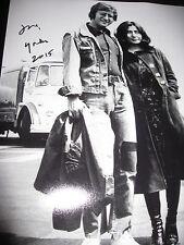 YOKO ONO SIGNED AUTOGRAPH 11x14 PHOTO BEATLES JOHN LENNON VINTAGE SHOT