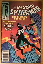 Amazing Spiderman #252 1st Black Costume Key Issue Brett Breeding Art Low Grade?