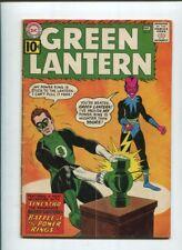 GREEN LANTERN  #9 VG First Sinestro Cover  1960-86