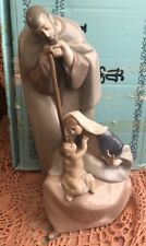 Lladro 1499 Blessed Family Retired! Mint Condition! Original Blue Box! Rare!