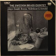 The Swedish Brass Quintet Plays Ewald Bozza Holmboe & Arnold LP NM Vinyl NICE