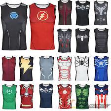 Herren Marvel Superhero Muskelshirt Top Weste Tanktop Ärmellos T-Shirt Unterhemd