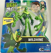 Ben 10 Wildvine Action Figure with Battle Vines Playmates Toys Brand New