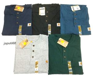 Carhartt K84 Workwear Henley Pocket T-Shirt [H1-84] Free shipping